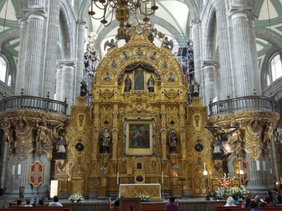 CATEDRAL DE MEXICO (nave procesional)